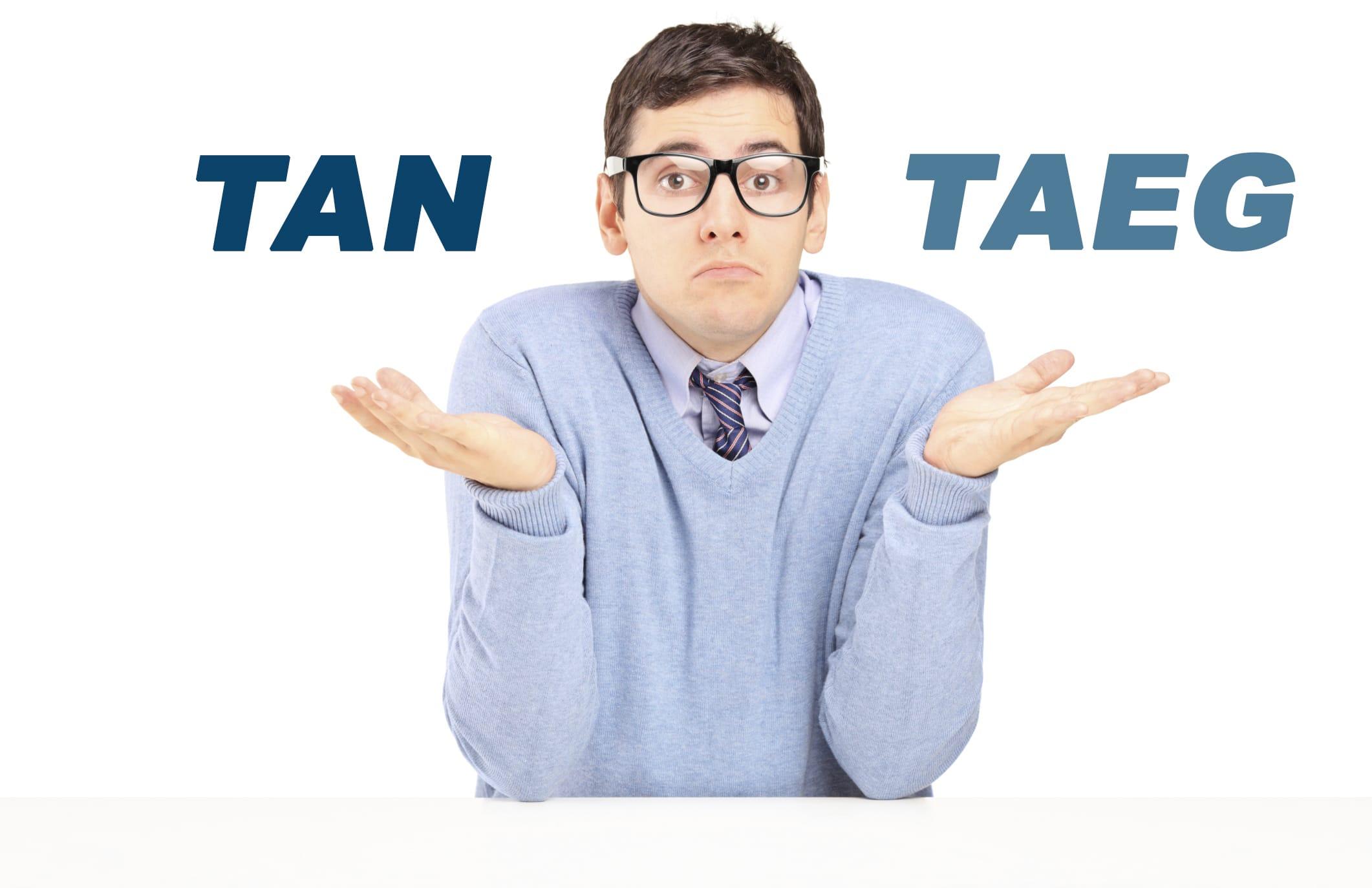 Differenza tra TAN e TAEG